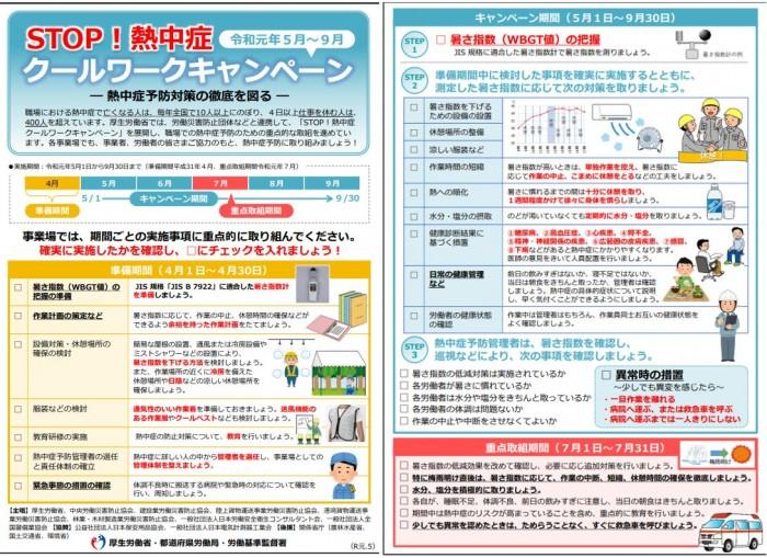 STOP熱中症-厚生労働省